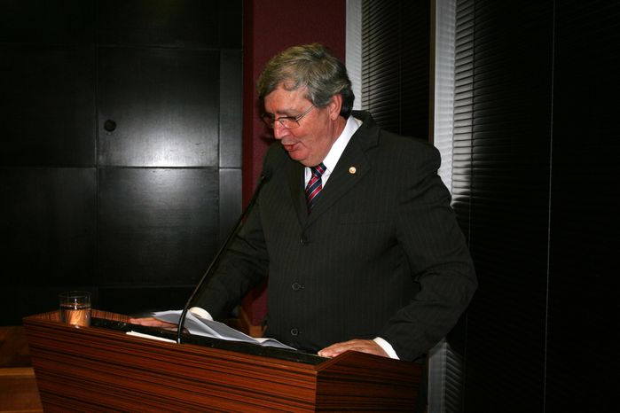 Foto do presidente da Associação do MP